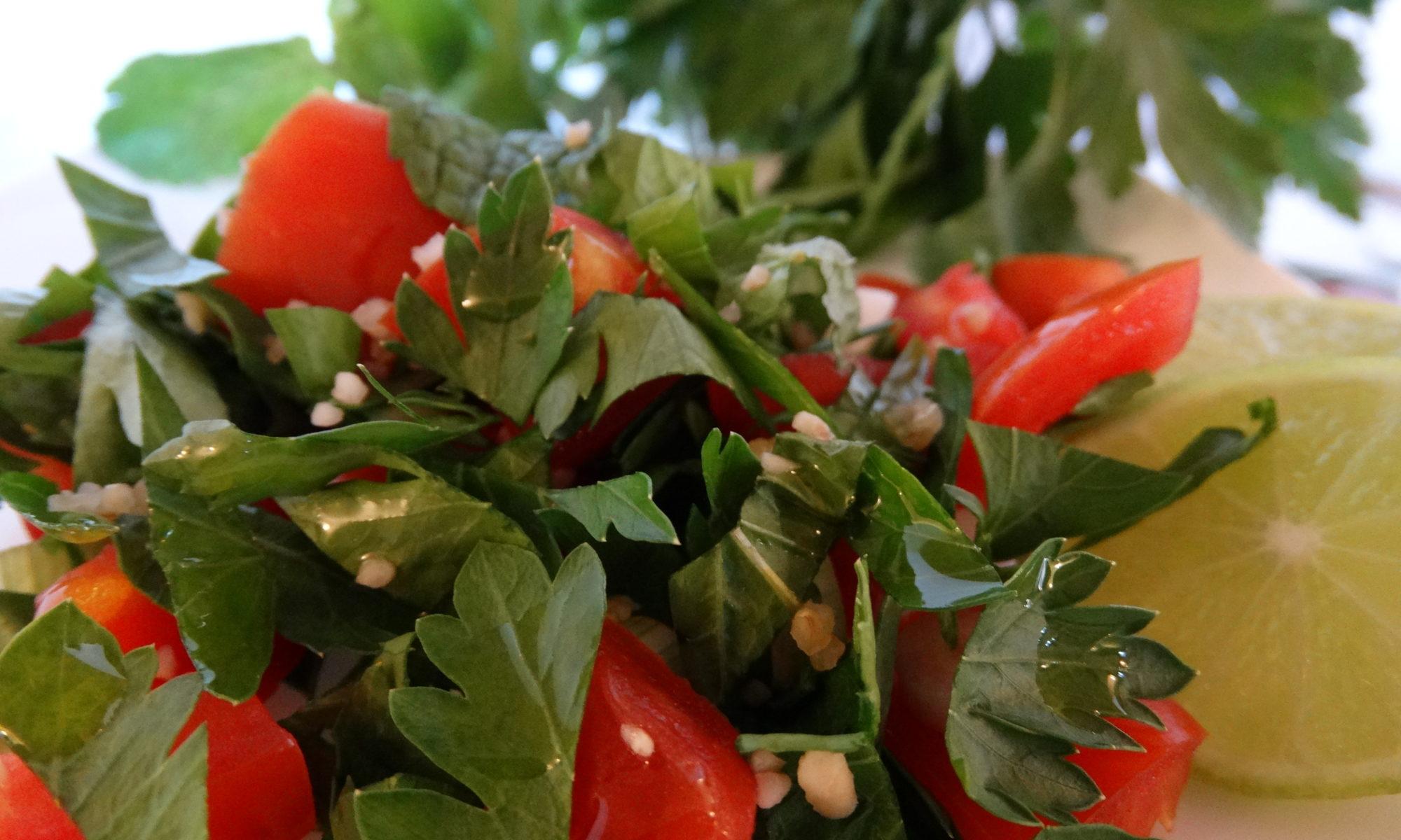 Themen gesunde Ernährung Tabbouleh