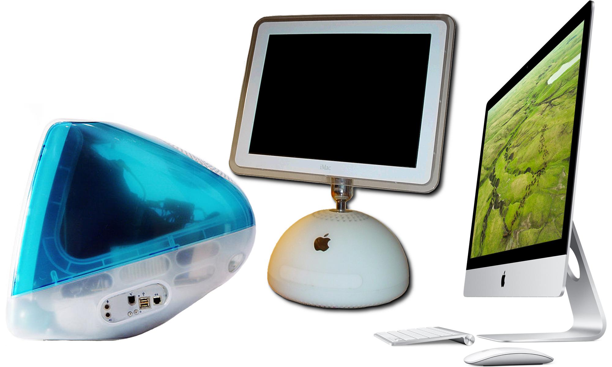 Verschiedene iMac-Modelle