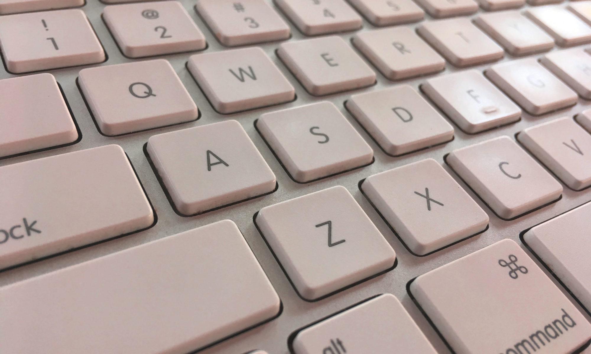 Text für den Bildschirm vom Keyboard